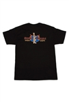 Crest Black Men's T-Shirt